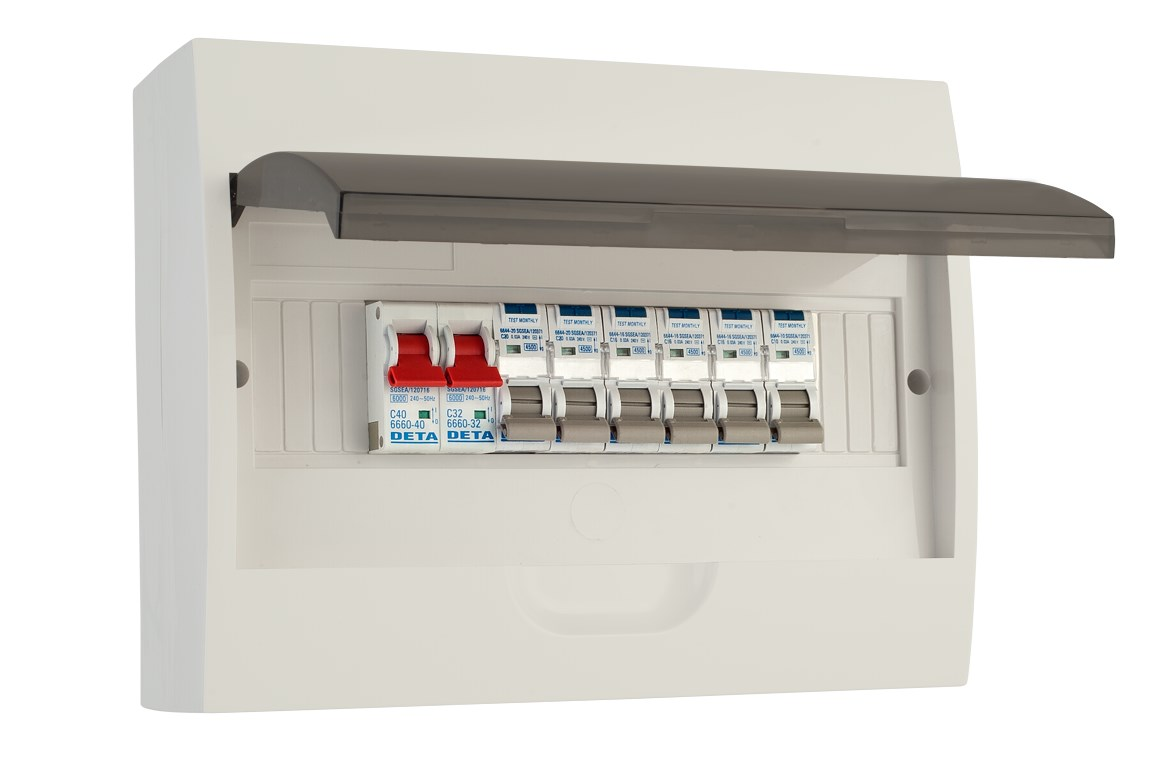 Hager Electrical Fuse Box : Residential slide lentech security and electrics